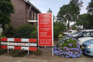 Van der Sloot Reclame - Buitenreclame & Gevelreclame - Th. v.d. Camp & Zn. Bord