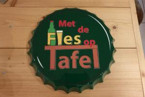 Van der Sloot Reclame - Diversen & Customizing - Met de fles op tafel