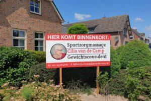 Van der Sloot Reclame - Voertuigreclame & Carwrapping - Cilia van de Camp