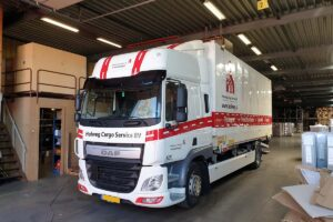 Van der Sloot Reclame - Voertuigreclame & Carwrapping - Holweg Cargo Service