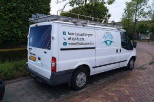 Van der Sloot Reclame - Voertuigreclame & Carwrapping - Solar Concept Berghem
