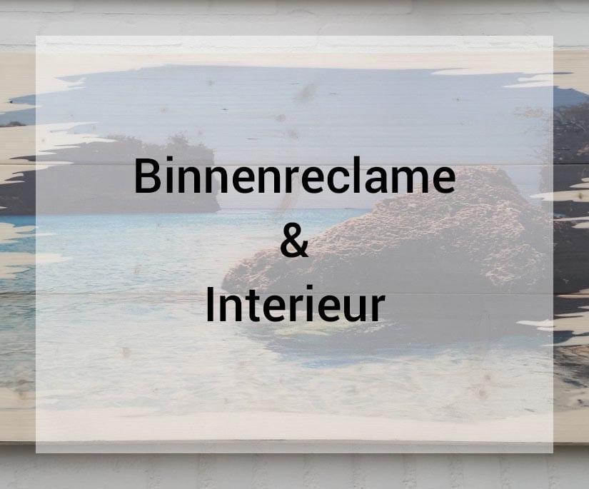 Van der Sloot Reclame - Binnenreclame & Interieur