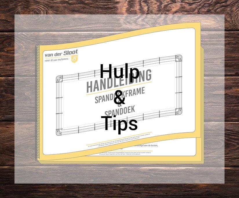 Van der Sloot Reclame - Hulp & Tips