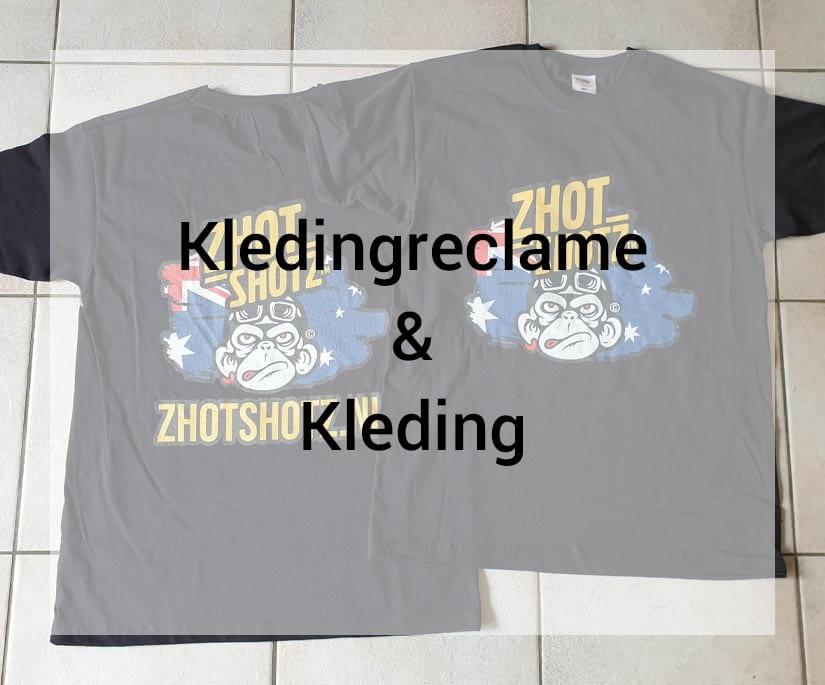 Van der Sloot Reclame - Kledingreclame & Kleding